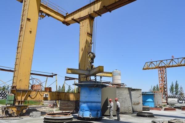 水泥排水管设备